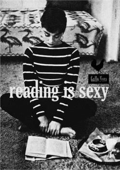 PÓSTER READING IS SEXY AUDREY HEPBURN