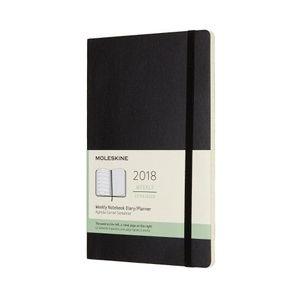AGENDA MOLESKINE 2018 SETMANAL TAPA DURA POCKET NEGRE (12018)