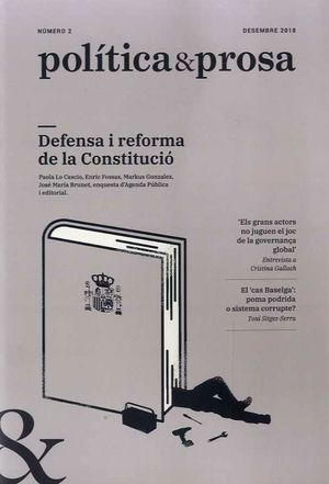 POLÍTICA & PROSA 2 DESEMBRE 2018