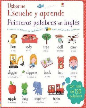 ESCUCHO Y APRENDO PRIMERAS PALABRAS EN INGLÉS