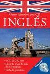 CURSO INTENSIVO CON CD INGLÉS (INCLUYE 4 CDS)
