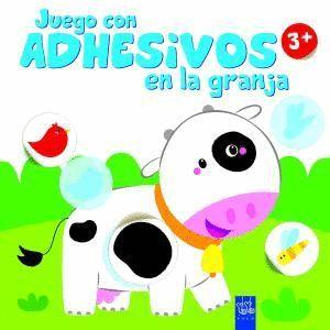 JUEGO CON ADHESIVOS EN LA GRANJA +3 VACA