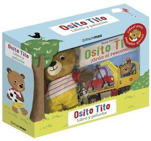 OSITO TITO (LIBRO Y PELUCHE)