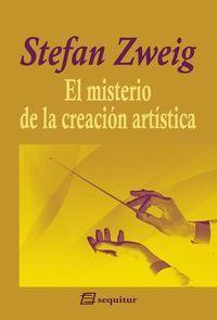 MISTERIO DE LA CREACIÓN ARTÍSTICA
