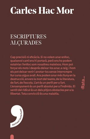 ESCRIPTURES ALÇURADES