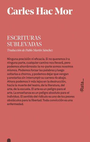 ESCRITURAS SUBLEVADAS