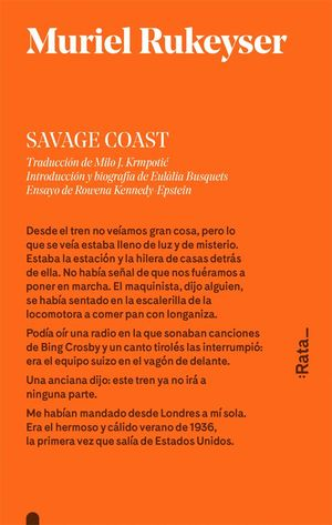 SAVAGE COAST (CASTELLANO)