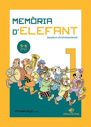 MEMÒRIA D'ELEFANT 1 QUADERN D'ENTERTENIMENT