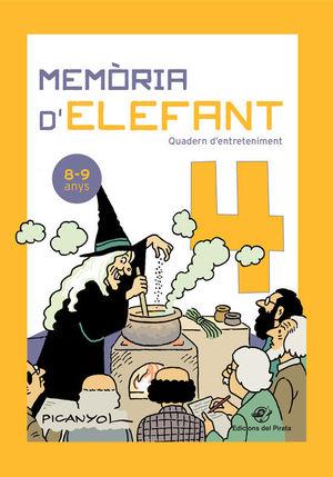 MEMÒRIA D'ELEFANT 4 QUADERN D'ENTRETENIMENT