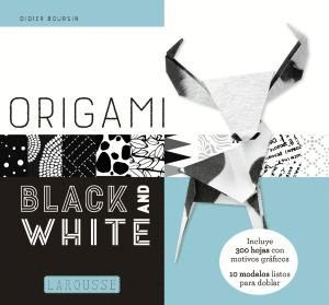 ORIGAMI BLACK AND WHITE