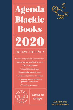 AGENDA BLACKIE BOOKS 2020