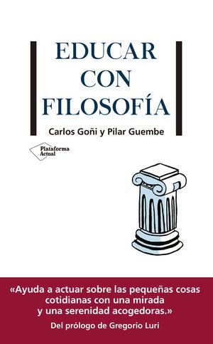 EDUCAR CON FILOSOFÍA