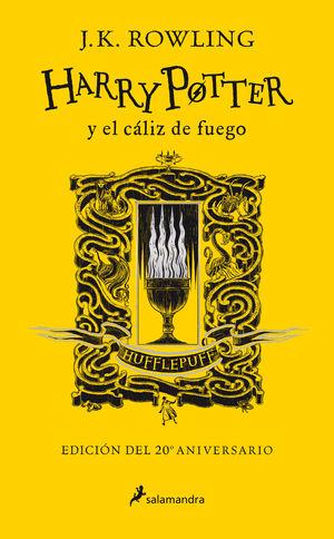 HARRY POTTER Y EL CÁLIZ DE FUEGO (EDICIÓN HUFFLEPUFF DEL 20º ANIVERSARIO)