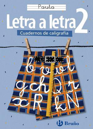 CALIGRAFÍA LETRA A LETRA PAUTA 2