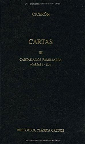 CARTAS III, FAMILIARES I
