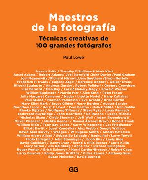 MAESTROS DE LA FOTOGRAFÍA