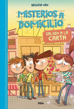 MISTERIOS A DOMICILIO 5 SALSEO A LA CARTA