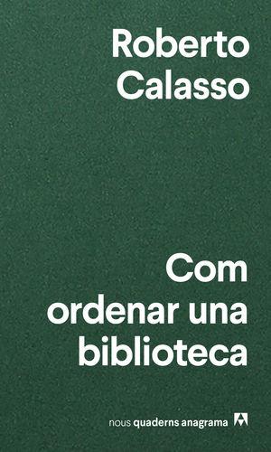 COM ORDENAR UNA BIBLIOTECA