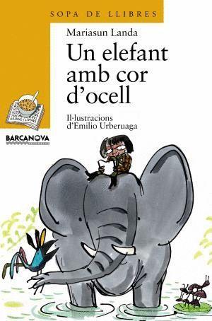 UN ELEFANT AMB COR D'OCELL