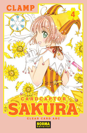CARD CAPTOR SAKURA CLEAR CARD 4
