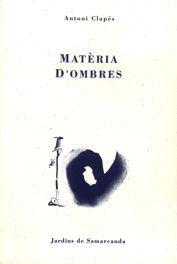 MATÈRIA D'OMBRES