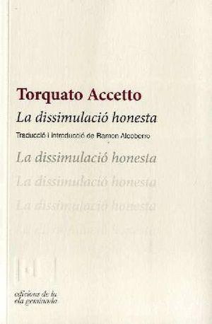 LA DISSIMULACIÓ HONESTA