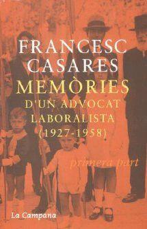 MEMÒRIES D'UN ADVOCAT LABORALISTA (1927-1958)