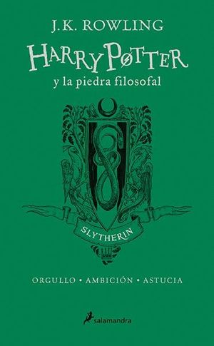 HARRY POTTER Y LA PIEDRA FILOSOFAL: SLYTHERIN