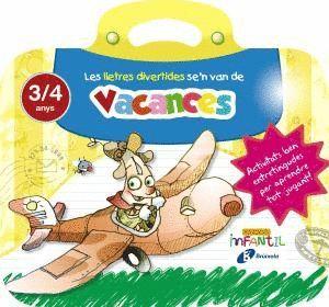 LES LLETRES DIVERTIDES SE'N VAN DE VACANCES 3 ANYS