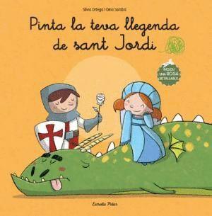 PINTA LA TEVA LLEGENDA DE SANT JORDI