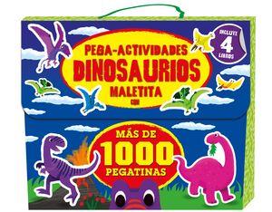 MALETITA DINOSAURIOS 1000 PEGATINAS