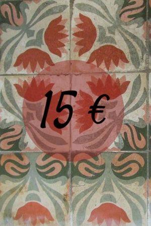 XEC PER LLIBRES 15€