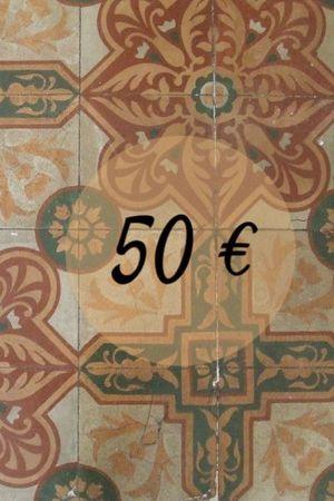 XEC PER LLIBRES 50€